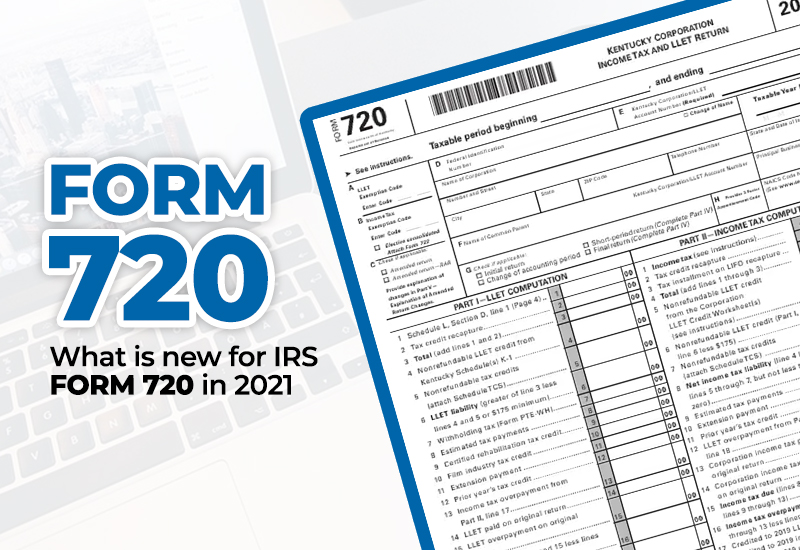 what is Form 720